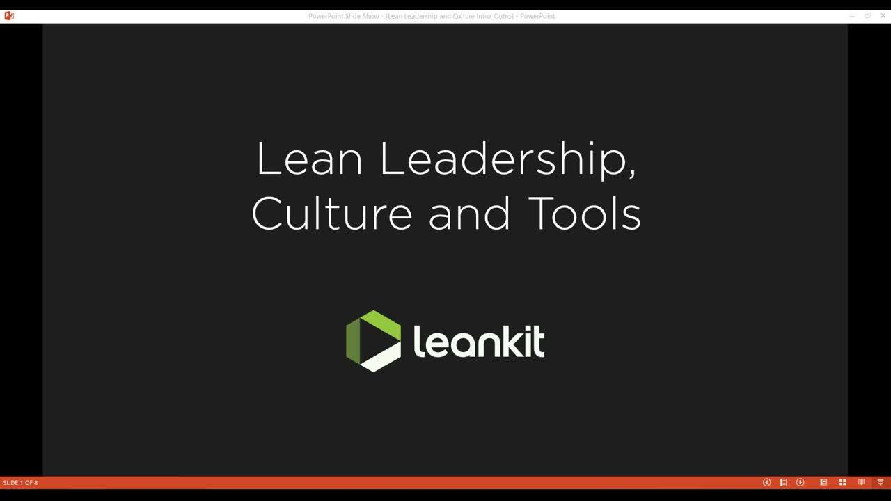 Video: Lean Leadership, Culture and Tools Webinar with Chris Hefley