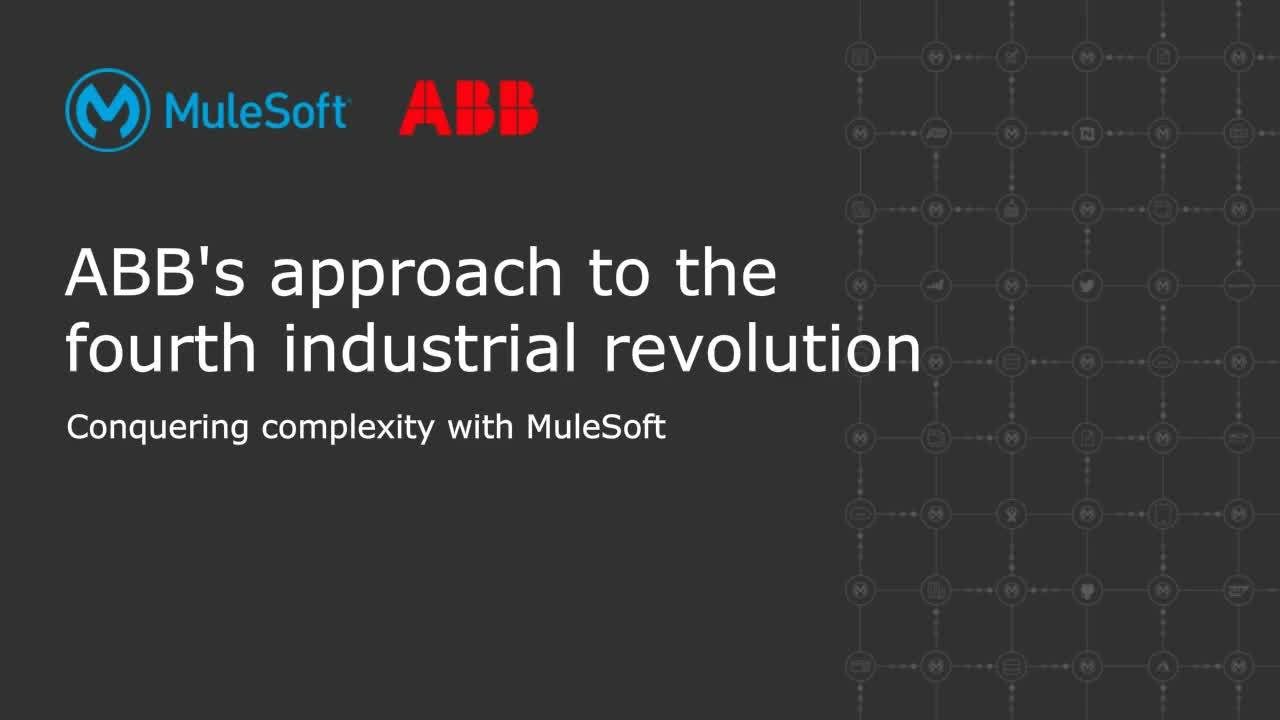 Webinar: ABB's approach to the fourth industrial revolution