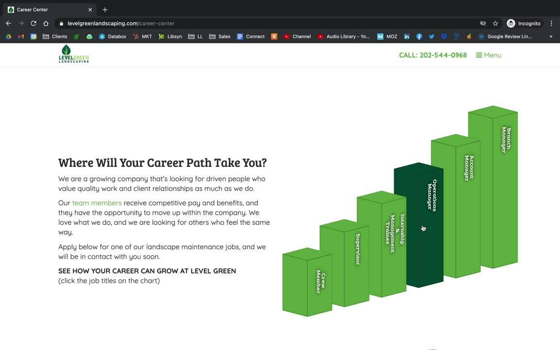 Level Green Landscaping - Career Path