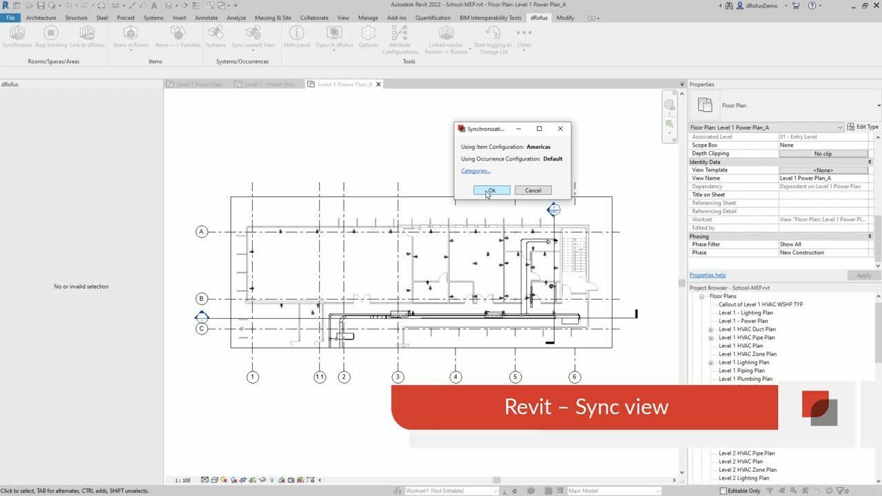 Revit - Sync View
