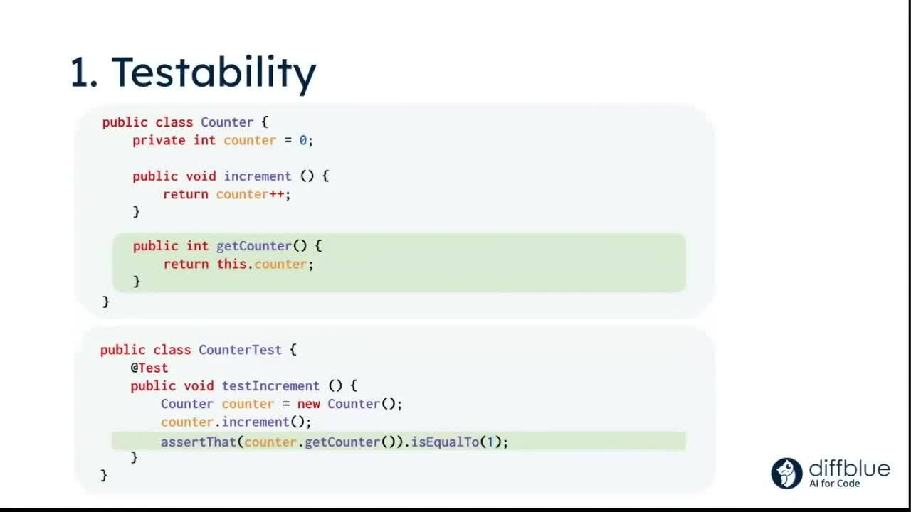 FINOS Meetup - Code Coverage - Diffblue - 20210217