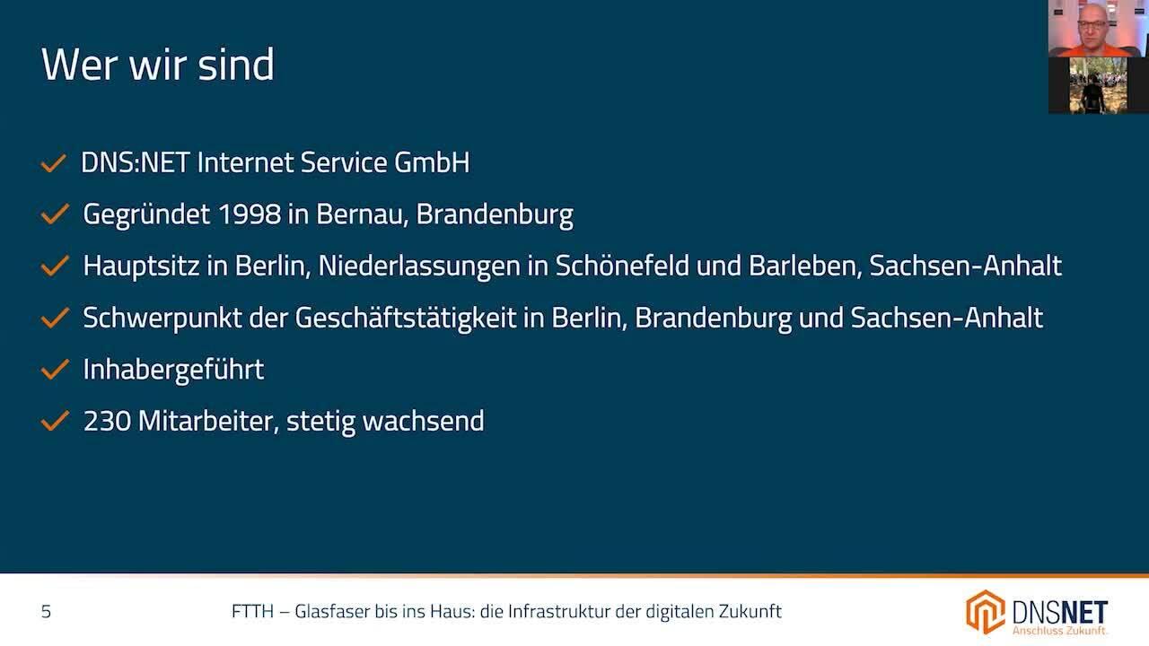 Informationsveranstaltung Stahnsdorf