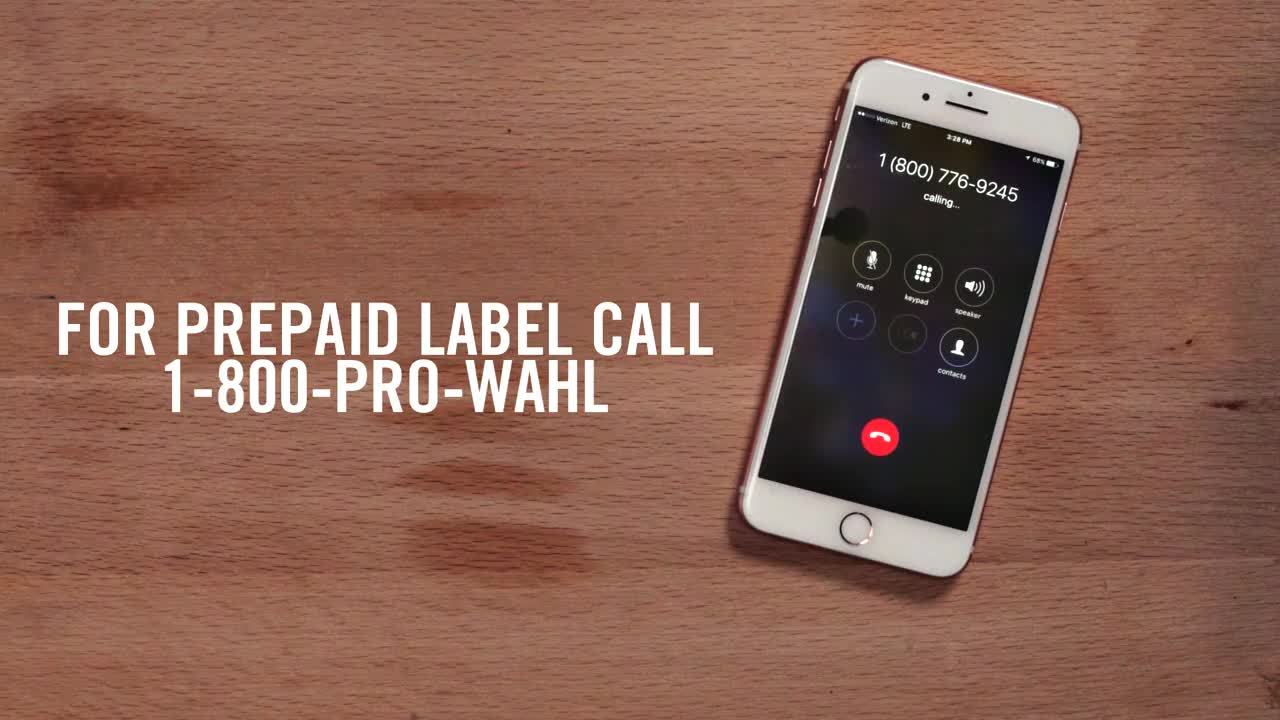 WAHL How to Send Wahl Product to be Repaired