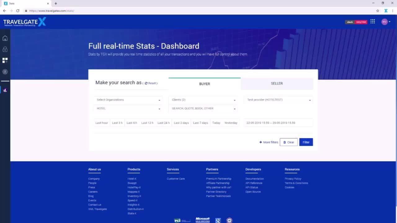 TravelgateX New Dashboard Explained