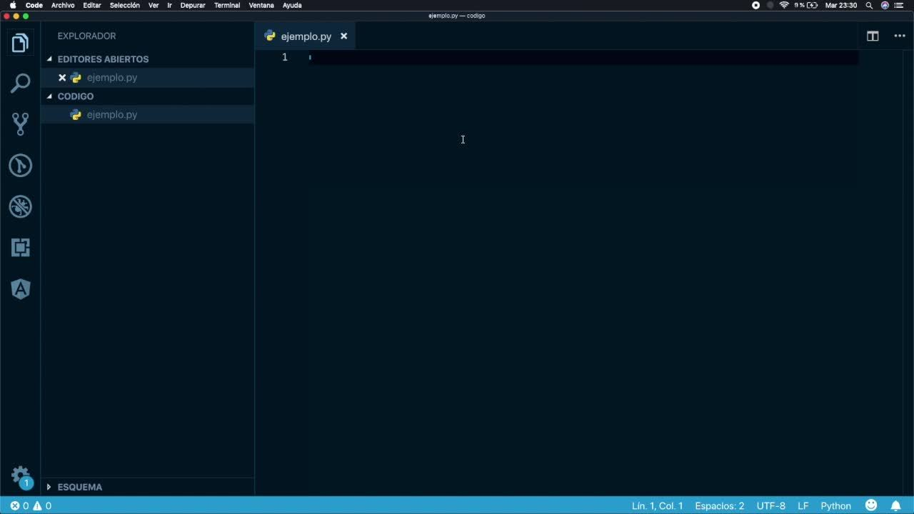 Pronoide - Primeros pasos con Python v2