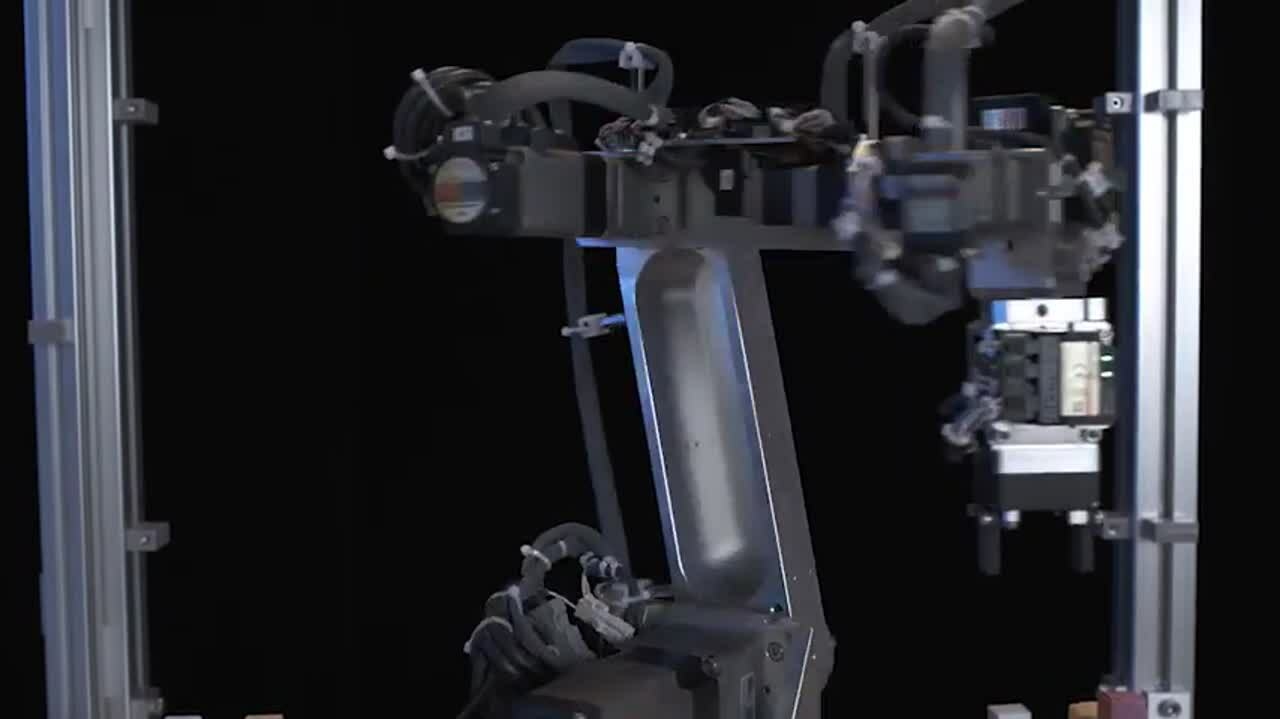 7-Axis Articulated Robot Demonstration and System Configuration