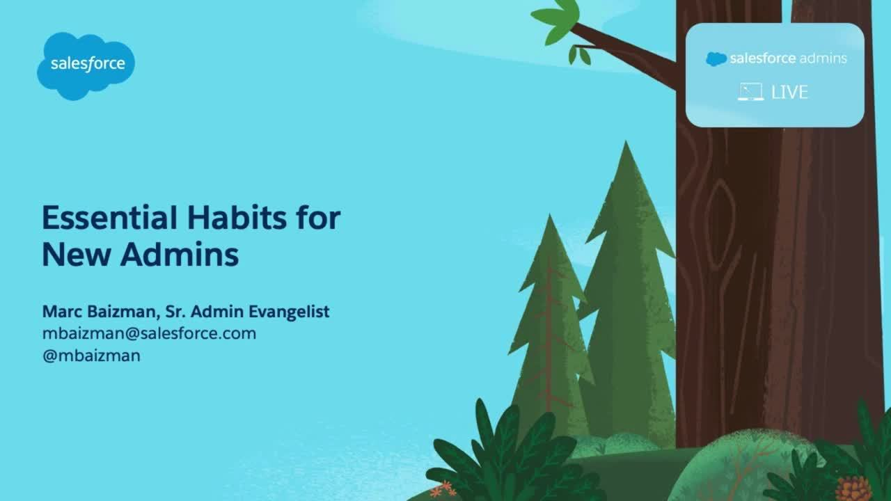 Video: Essential Habits for New Admins