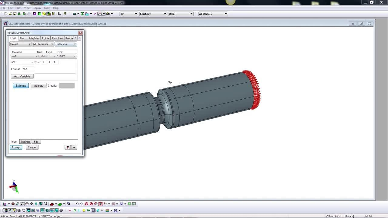 StressCheck Demo_ Benchmarking 3D Stress Concentration Factors via Numerical Simulation