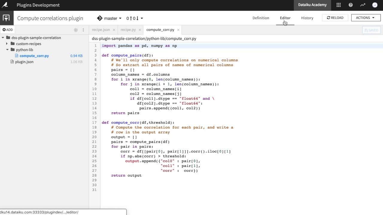 Git Integration for Plugins
