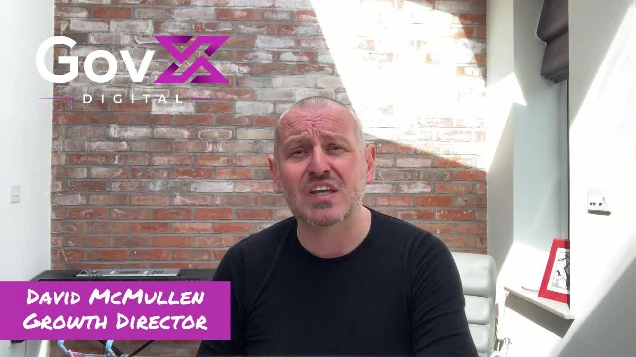 David McMullen - Weclome to GovX Digital Partnership