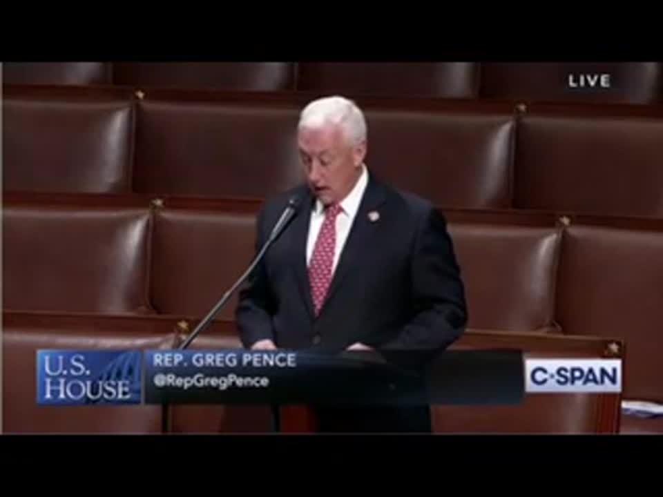Pence on House Floor June 2020