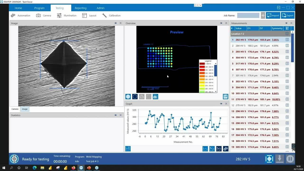 Demonstrations of DiaMet™ Hardness Software [Part 4]