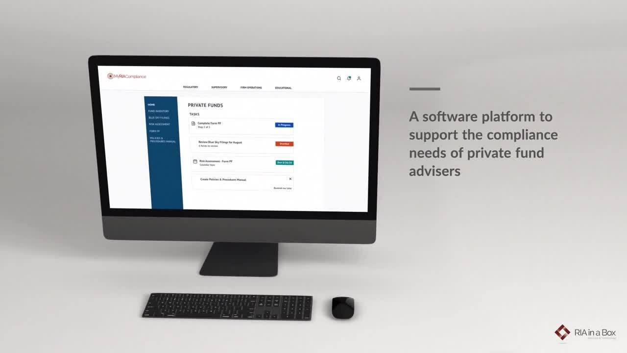 Private Fund Platform Video