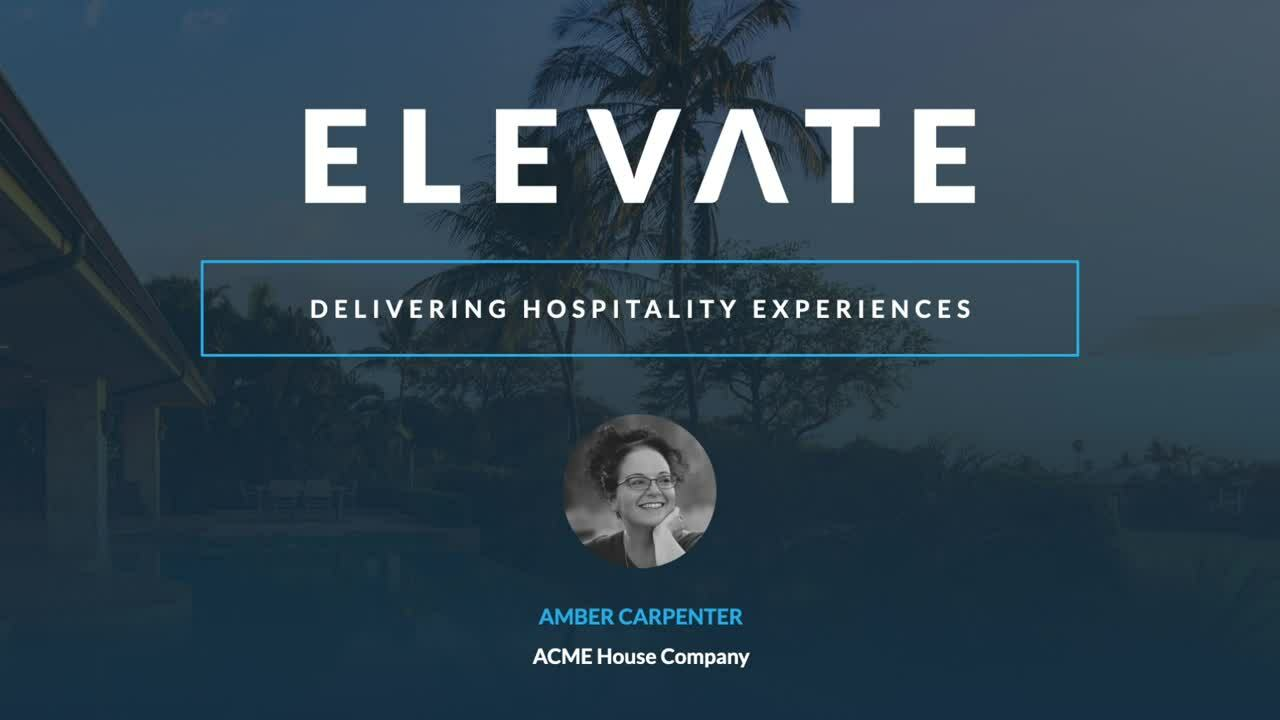 Delivering Hospitality Experiences
