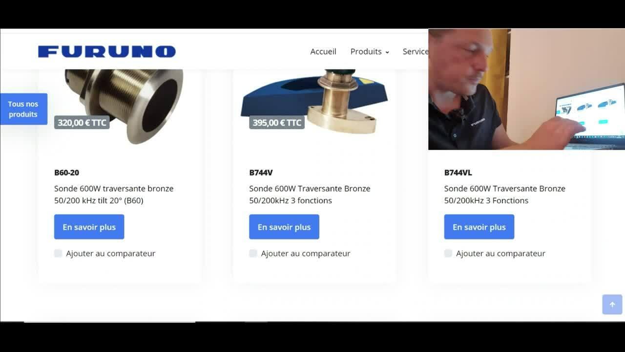 Site furuno filtre et comparateur de sondes FINAL