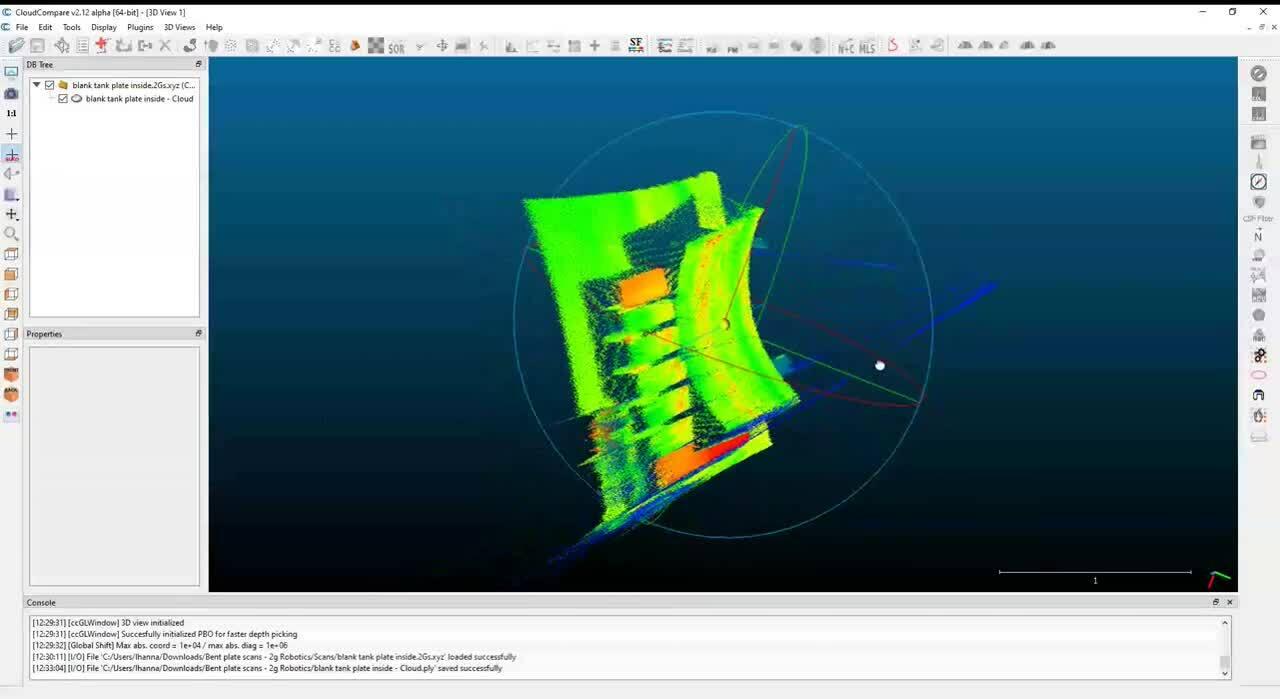 3D Laser Scanner Output