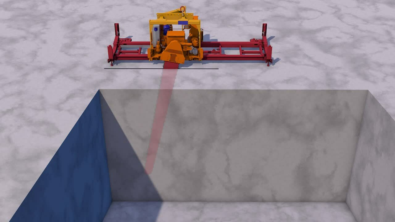 70RA - Chainsaw on Single Rail