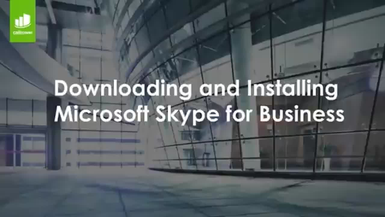 Downloading and Installing Microsoft Skype4B