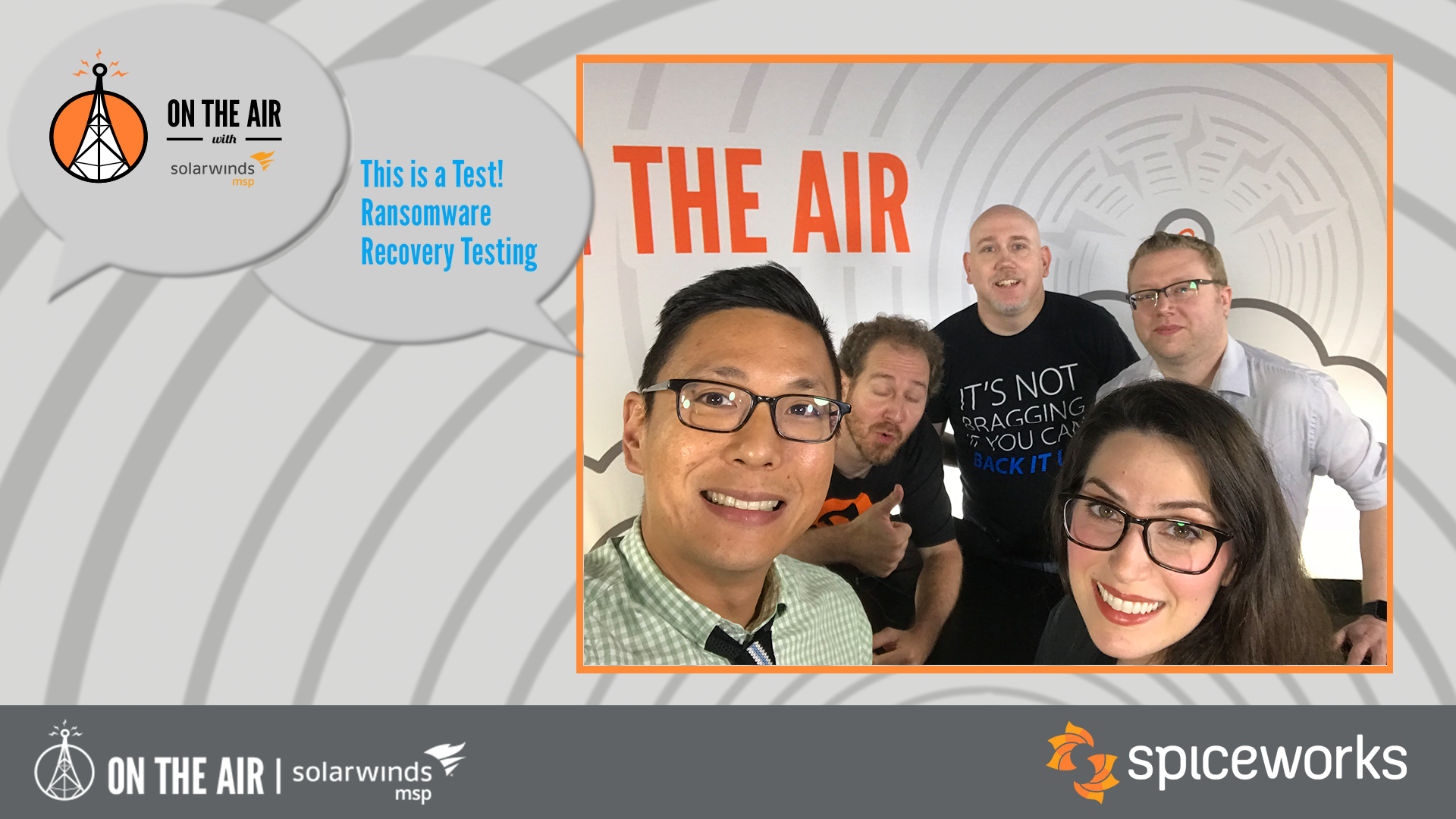 Videos from On The Air - Spiceworks