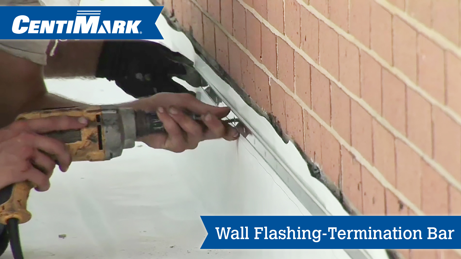 Wall Flashing Using Termination Bar Roofing Company